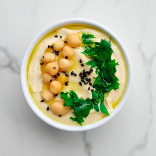 Cremiger Hummus in 10 Minuten